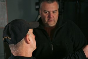 Kenny chats with director Tom Parker