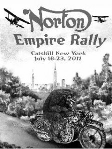 Norton Empire Rally poster
